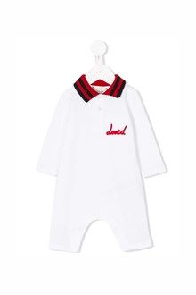 GUCCI 'Loved'  baby suit ,bonnet and bib