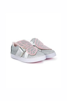 SOPHIA WEBSTER 'Bibi' low top mini slip-on leather sneakers