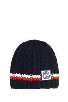 MONCLER GAMME BLEU tricot  beanie with logo