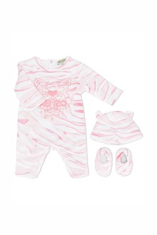 KENZO KIDS Baby set with cotton baby suit,bonnet  and shoes