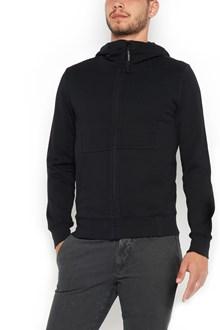 C.P. COMPANY zipped hoodie with glasses on hood