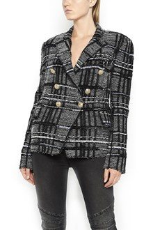 BALMAIN Six  buttons tweed tailleur jacket