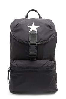 GIVENCHY 'Obsedia light' nylon backpack with star