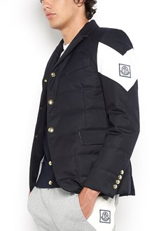 MONCLER GAMME BLEU padded jacket with close buttons and pockets