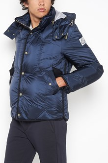 MONCLER GAMME BLEU padded bomber with zip and hood
