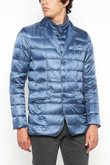 HERNO padded jacket with close buttons