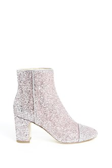 POLLY PLUME 'Sparkling' glittered ankle boots