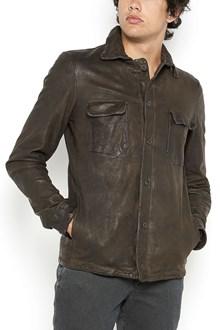 SALVATORE SANTORO lamb leather jacket