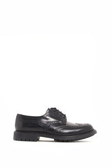 CHURCH'S Patent leather  lace-up shoes with rubber sole