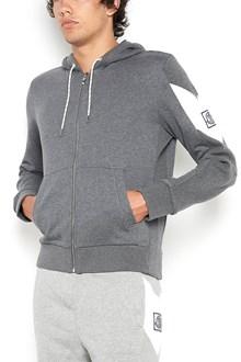 MONCLER GAMME BLEU cotton hoodie with logo
