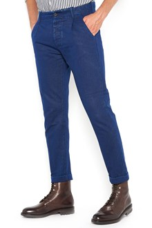 FORTELA gabardine cotton trousers