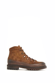 SILVANO SASSETTI horse leather laced up ankle boots