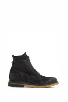 SILVANO SASSETTI horse leather lace up ankle boots