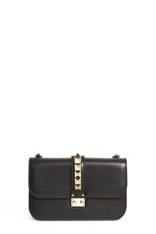 VALENTINO GARAVANI Medium 'Lock' calf leather shoulder bag