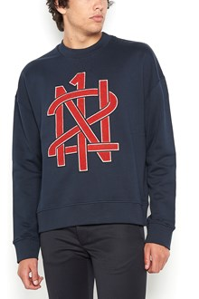 N°21 cotton swaetshirt with embroidery logo