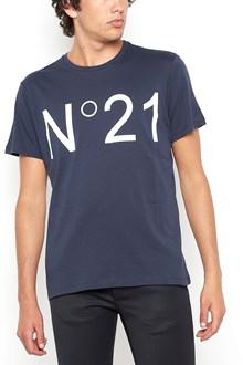 N°21 cotton logo printed t-shirt