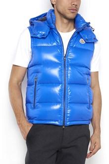 MONCLER 'Lacet' hooded zipped vest