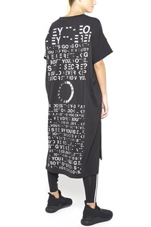 Y-3 graphic printed long dress