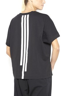 Y-3 round neck cotton t-shirt with print