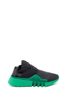 Y-3 'Ayero' sneaker with green platform