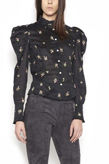 """ISABEL MARANT """"utah"""" shirt with floral embroidery"""
