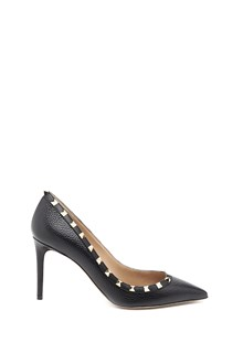 VALENTINO GARAVANI leather 'Rockstud' pumps with studs