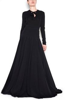 PRADA plisse long skirt