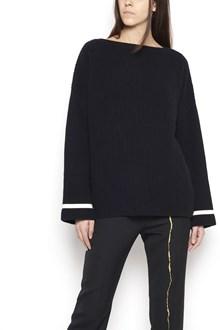 HAIDER ACKERMANN wool boat neck sweatshirt