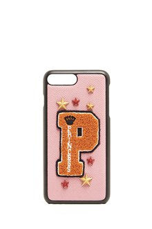 DOLCE & GABBANA leather cover iphone 7 plus with patch P