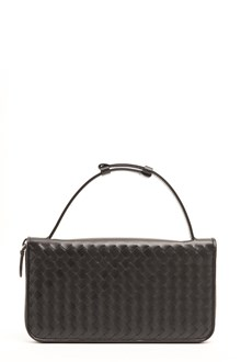 BOTTEGA VENETA leather organizer with zip around