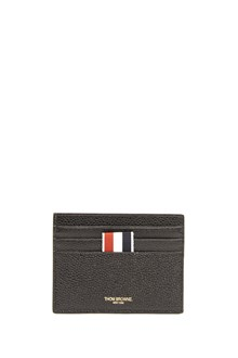 THOM BROWNE leather cards holder