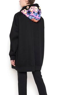 "GIVENCHY oversize hoodie with print ""mandala"" on hood"