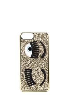 """CHIARA FERRAGNI case iphone 7 plus """"flirting"""" glitter"""