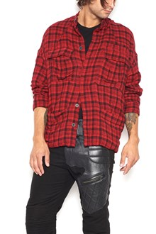 HAIDER ACKERMANN padded checked buttoned bomber jacket