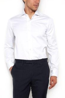 BARBA striped cotton long sleeves shirt