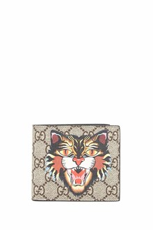 GUCCI wallet with angry cat