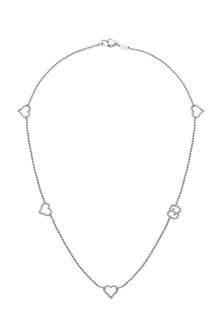 GUCCI 'Boule' silver necklace