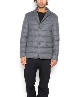 "MONCLER ""rodin"" padded flannel jacket"