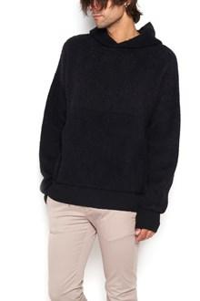 LANEUS alpaca hoodie