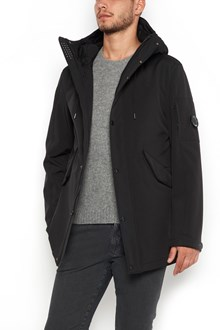 C.P. COMPANY zipped hooded long jacket