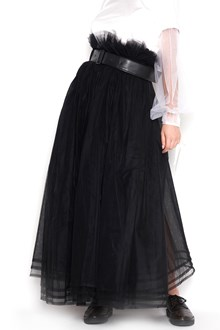 NOIR KEI NINOMIYA tulle skirt with waist belt
