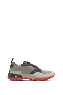 PRADA LINEA ROSSA calf leather and rubber sneaker