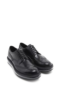 PRADA Calf leather laced up shoes