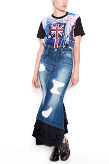 "JUNYA WATANABE cotton t-shirt with print ""british"" all over"
