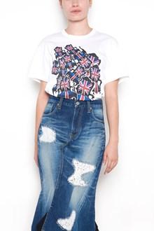 """JUNYA WATANABE printed """"british"""" cotton t-shirt"""