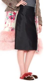 PRADA silk longuette skirt