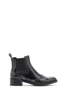"CHURCH'S ""estella"" boots with studs and swarowsky"