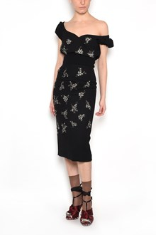 N°21 Dress with Flowers
