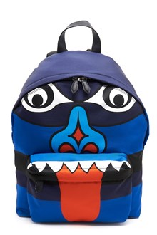 "GIVENCHY nylon backpack with print ""blue totem"""