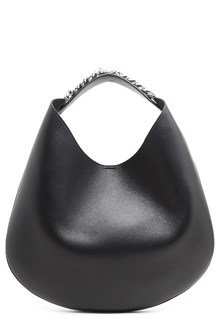 GIVENCHY 'infinity hobo' leather shoulder bag with chain
